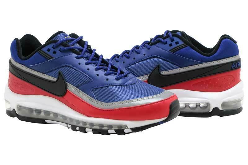 921826 004 Nike Air Max 97 Herren Lifestyle Schuhe Schwarz