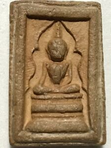 PHRA SOMDEJ JITLADA LP RARE OLD THAI BUDDHA AMULET PENDANT MAGIC ANCIENT IDOL#8