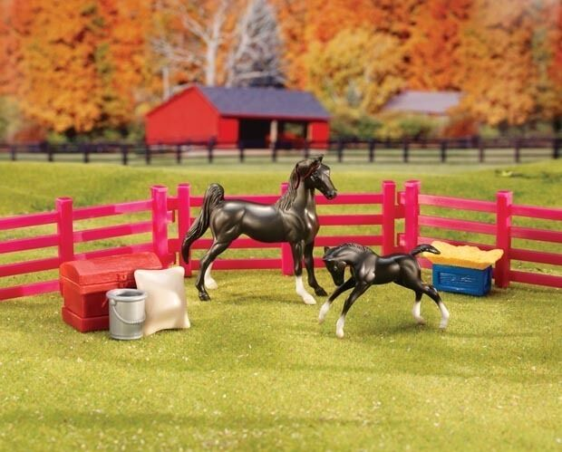 Breyer Stablemate Horse: Stablemate New Arrival Set #5414 NIB FREE SHIPPING