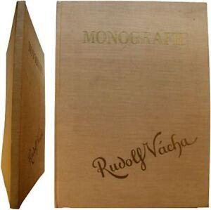 Monografie-Rudolf-Vacha-1934-Halas-Vyskocil-monographie-peintre-tcheque