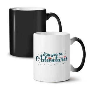Say Yes Adventure NEW Colour Changing Tea Coffee Mug 11 oz   Wellcoda