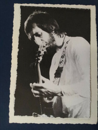 .ad handmade greeting card with PETE TOWNSHEND early