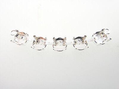 Premium European Empty 5 Box Center Piece For Necklace 8.5mm 3pc - Choose Finish