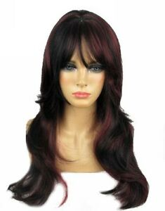 Long-Sexy-Layered-Black-Burgundy-Skin-Top-Wig