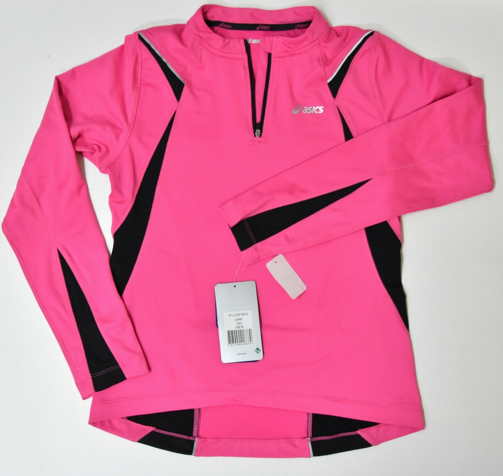 Asics DUO TECH damen Zip Top Sport long sleeve Athletic running jacket BRAND NEW