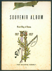 50th-Anniversary-FIRST-PHILIPPINE-ASSEMBLY-1957-Souvenir-Album-FDI