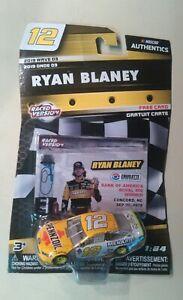 #12 Ryan Blaney 1//64-2018 PPG NASCAR Action Lionel RCCA Diecast Car