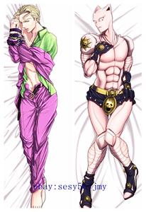 JoJo/'s Bizarre Adventure Dakimakura Anime Hugging Body Pillow Case Cover