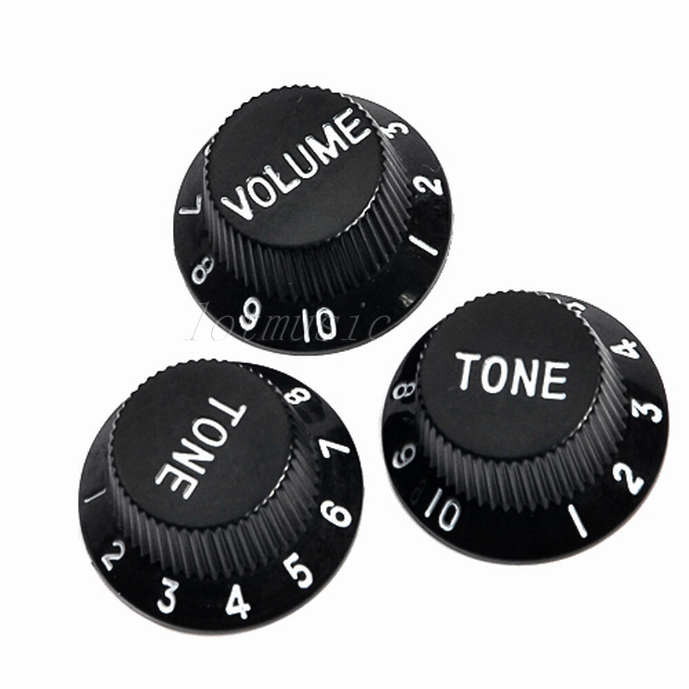 5sets different color volume tone control knob for fender strat guitar ebay. Black Bedroom Furniture Sets. Home Design Ideas