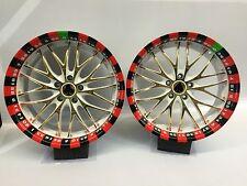 "Barracuda Alufelgen Satz 9x19"" Zoll Voltec T6 5x114,3 ET35 Casino Roulette"