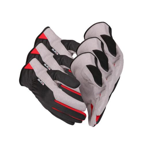 3 x Guide 761 Schutzhandschuhe aus amara-Synthetikleder mit Handschuhberater 3