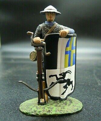 55mm fante il Samurai SOLDATINO MEDIEVALE MS012 De Agostini di piombo Saraceno