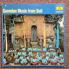 Gamelan Music From Bali LP Vinyl Itself Is Excellent Plus To Near Mint