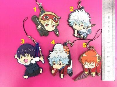 Gintama  Sakata Gintoki key chain key chains cute chains 5 choise anime gift new