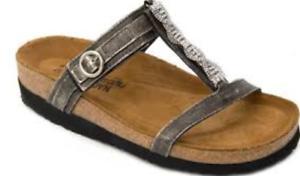 b41987551a36 Naot Malibu Metal Slide Sandal Women s sizes 5-11 36-42 NEW!!!