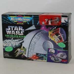 Galoob - Micro Machines Space - Star Wars The Death Star *NM BOX*