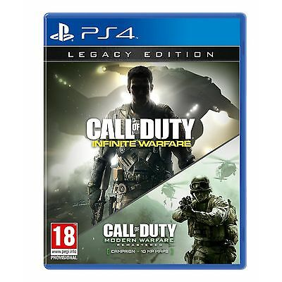 Call of Duty Infinite Warfare Legacy Edition (PS4) Brand New & Sealed UK PAL