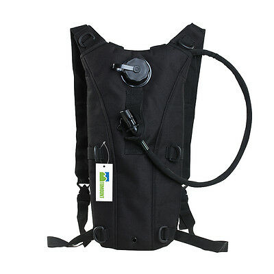 2.5L Cycling Hiking Survival Hydration System Water Bag Pouch Backpack Bladder
