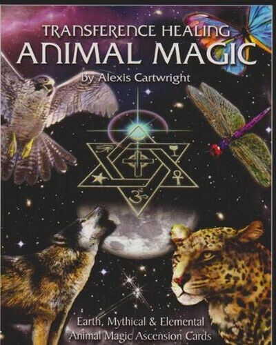 NEW Transference Healing Animal Magic  By Alexis Cartwright Card or Card Deck