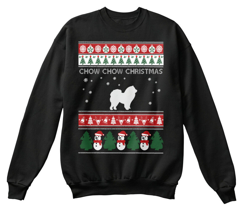 Chow Dog Ugly Sweater S S S - Christmas Standard Unisex Sweatshirt | Große Auswahl  | Modisch  | Schön geformt  e9ee2d