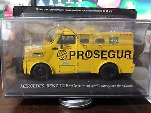 Brazilian Working Cars Altaya - Mercedes - Benz 712E Armored