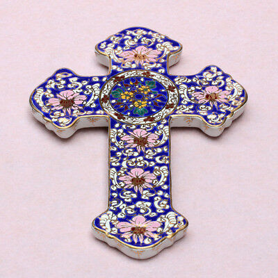 Siam Benjarong Porcelain Pottery Cross Hand Painted SB111 Thailand Hand  Made | eBay