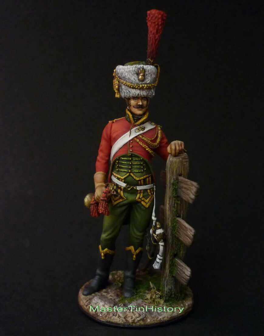Poniatowsky Guides Trumpeteer, 1803-13, ELITE Soldier, 54 mm scale