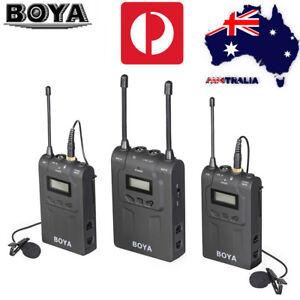 BOYA-BY-WM8-Pro-K2-UHF-Wireless-Microphone-System-Lavalier-for-ENG-EFP-DSLR