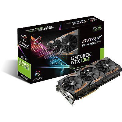ASUS GeForce GTX 1060 STRIX GAMING, Grafikkarte