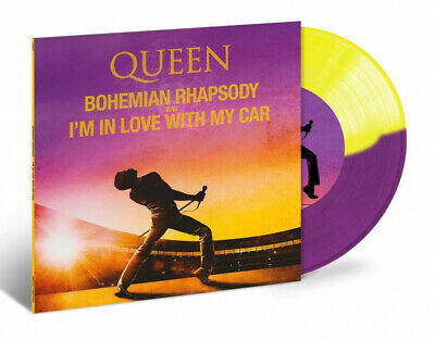 QUEEN - BOHEMIAN RHAPSODY/I'M IN LOVE WITH MY CAR, RECORD STORE DAY  COLOURED 7