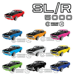 New-Sticker-Holden-LX-Torana-A9X-SLR-5000-Sedan-Standard-Rims