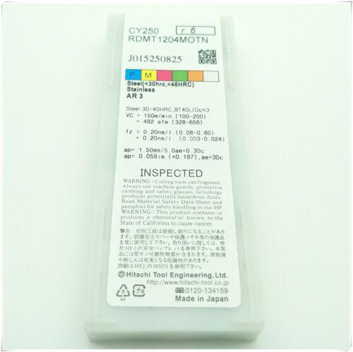 10pcs RDMT1204MOTN CY250 Carbide Inserts Boring insert  Original authentic CNC