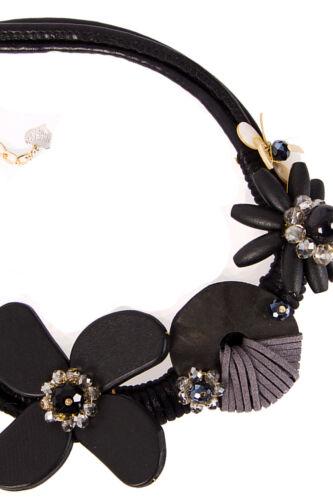 Urbanmist Leather Joya Piedras Fashion Jewellery Boho En capas Collar de declaración