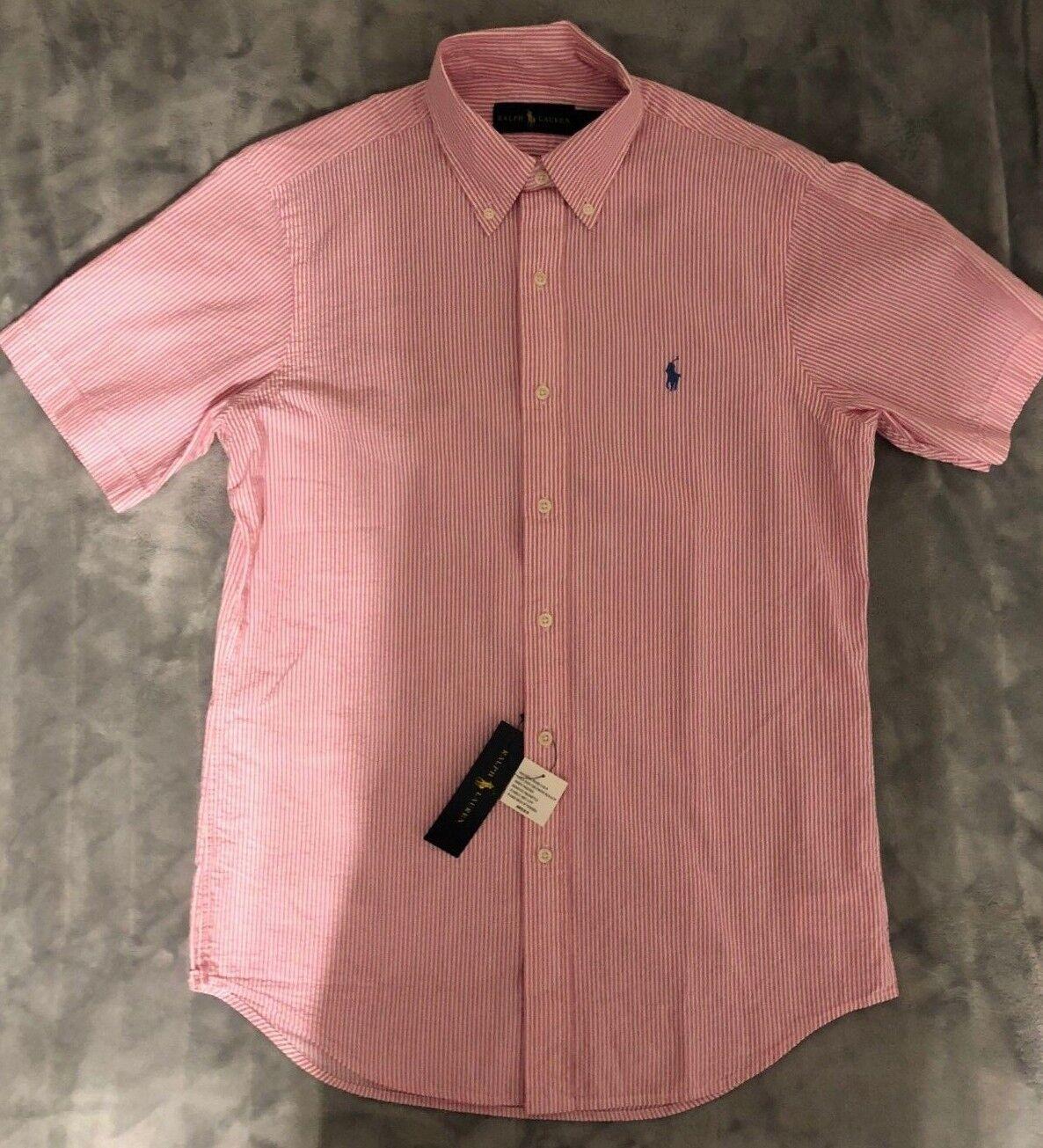 Polo Ralph Lauren Short Sleeves Shirt Brand New 2018