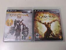 COMPLETE God of War Ascension & Saga (I, II, & III) for PlayStation 3 PS3