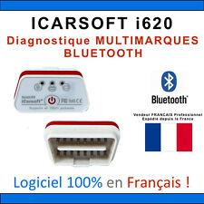 Interface iCARSOFT i620 BLUETOOTH - Puce ELM327 ÉVOLUTIVE - Diag OBD - VAGCOM