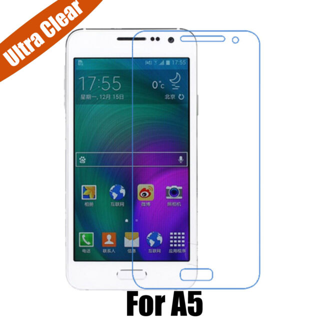 3x New Anti-Scratch Ultra Clear Film Screen Protector For Samsung Galaxy A5