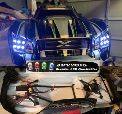 Traxxas X-Maxx Xmaxx X Maxx LED Light Kit - Headlights & Tail lights - 16  LEDs! | eBay