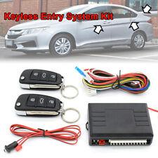 Remote Keyless Entry System For Car Central Door Trunk Lock Kit 12v Alarm Pke