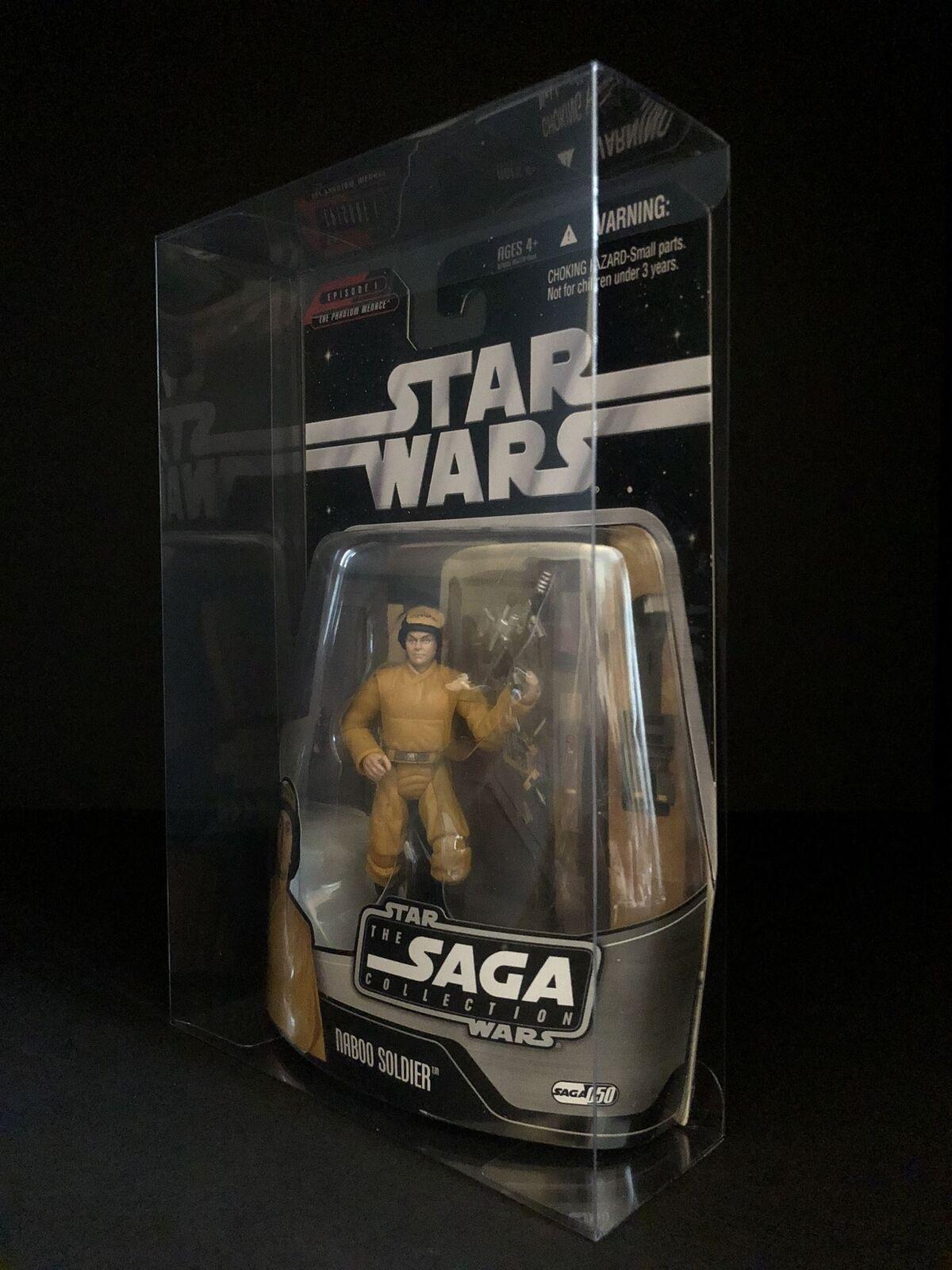 Star Wars The Saga Collection 3.75  Figure Predective Display Case Deflector DC®