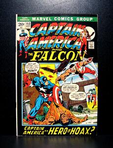 COMICS-Captain-America-153-1972-1st-Cap-America-IV-app-Cap-vs-Nick-Fury