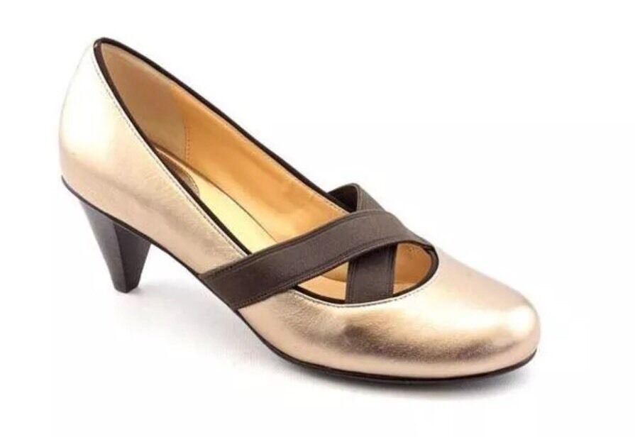 ordinare on-line NIB Cole Haan Donna  Air Lyric Pump Ginger Ginger Ginger Metallic Dimensione 7.5 B  promozioni