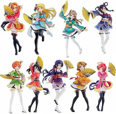 Love Live ! The School Idol Movie Ichiban Kuji Kimono Ver. PVC Figure Figurine