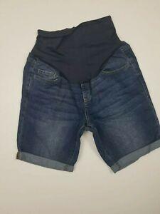 Old-Navy-Maternity-Shorts-Roll-Cuff-Denim-Jean-Pocket-Size-10