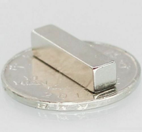 50PCS Super Strong Neodymium Magnets Disc Rare-Earth Fridge Magnet 20x5x5mm N50