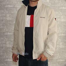 Tommy Hilfiger Mens Yacht Jacket Waterstop Khaki Tan Medium