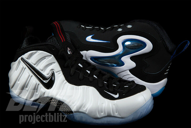 NIKE CLASS OF '97 PACK HE GOT GAME Sz 8-13 FOAMPOSITE PENNY WHITE 808643-100