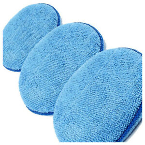 3-x-Microfibre-Foam-Sponge-Polish-Wax-Applicator-Pads-Car-Home-Cleaning-C5M3