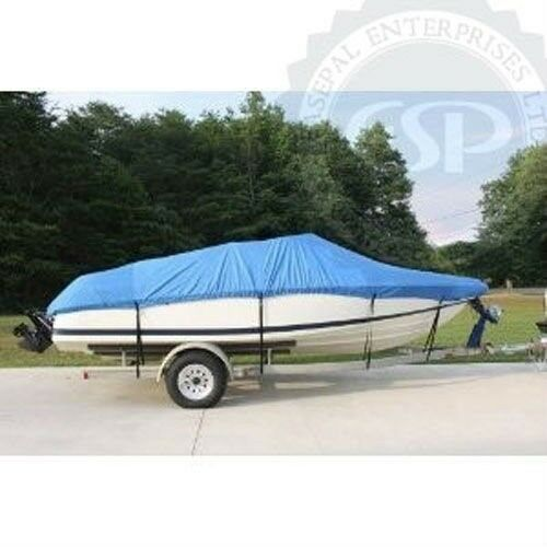 16/' to 18 Ft  Heavy Duty Trailerable Boat Cover *FREE SHIPPING*