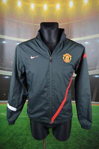 Dettagli su Manchester United Nike Calcio Giacca (Xl Ragazzi XS) Giacca a Vento Giacca Tuta Da Ginnastica mostra il titolo originale